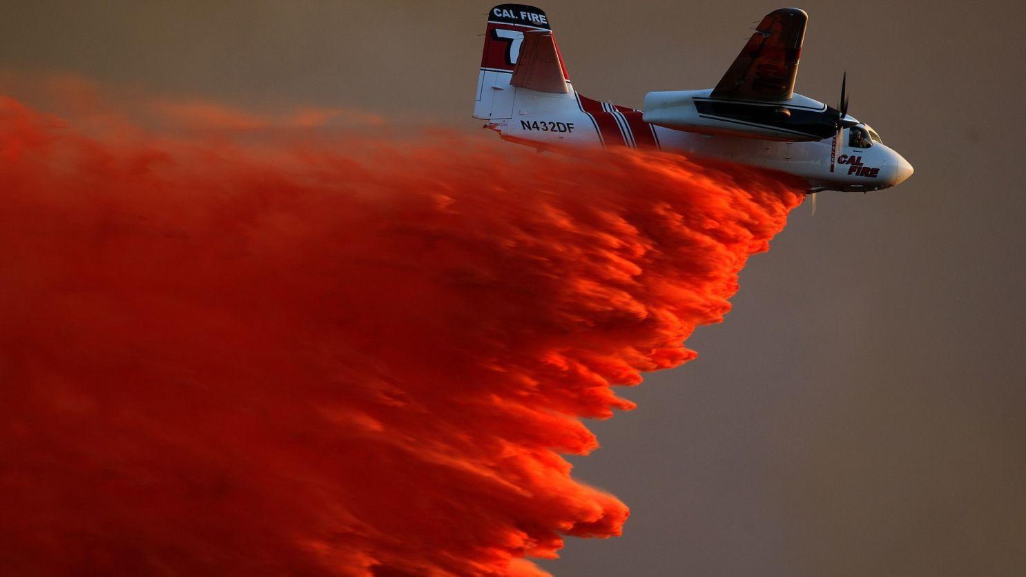 Cal Fire T-73 Drop